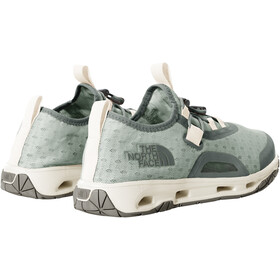 The North Face Skagit Water Shoes Women, green mist/wrought iron